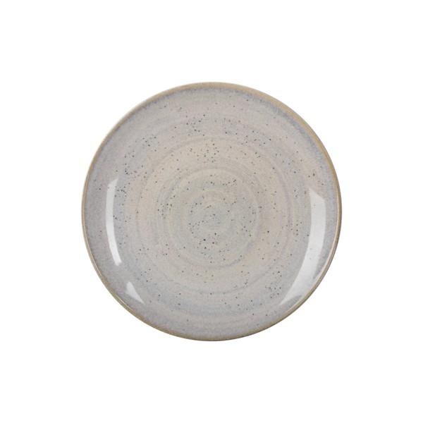 Тарелка обеденная IPEC MONACO коричневая 24 см