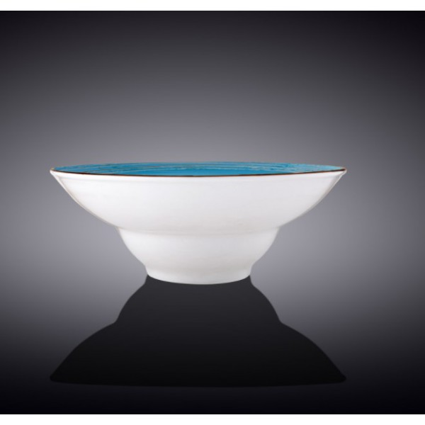 Тарелка глубокая Wilmax SPIRAL BLUE d20см/V800мл