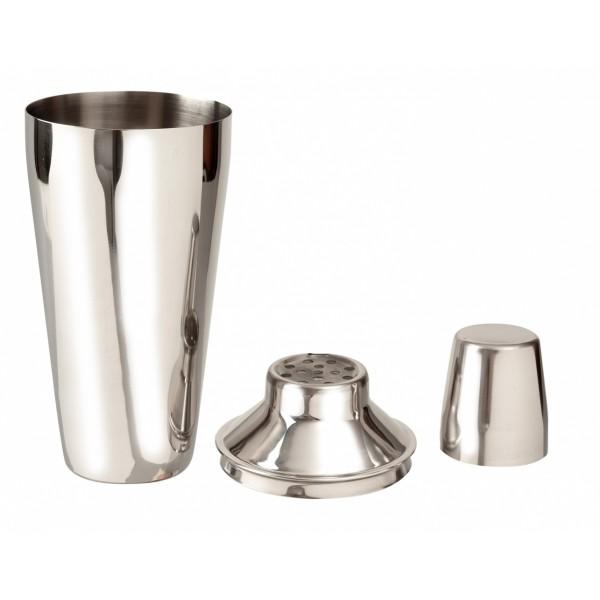 Шейкер Бостон Regular 3 предмета нержавеющая сталь