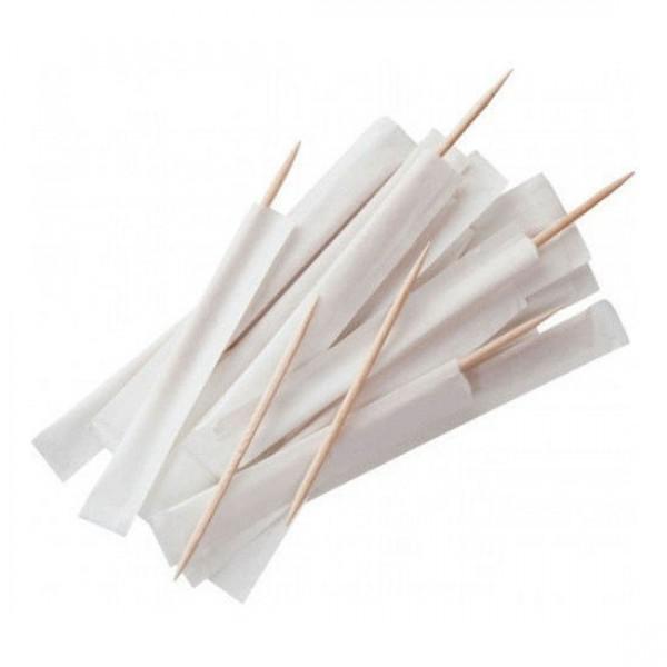 Зубочистки с инд.бумажной упак. (1000 шт/уп)