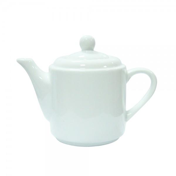 Чайник высокий белый 450 мл