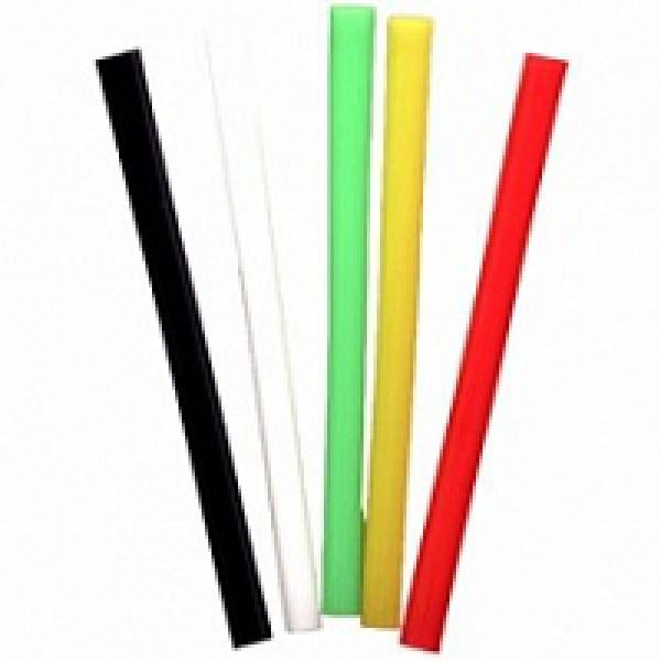Трубочка для коктейлей цветная 21 см (500 шт/уп) диам - 6 мм
