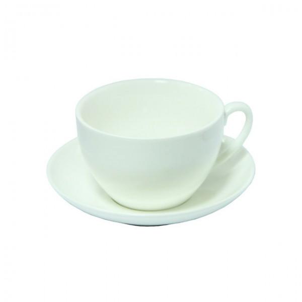 Керамический набор: чашка 200 мл + блюдце