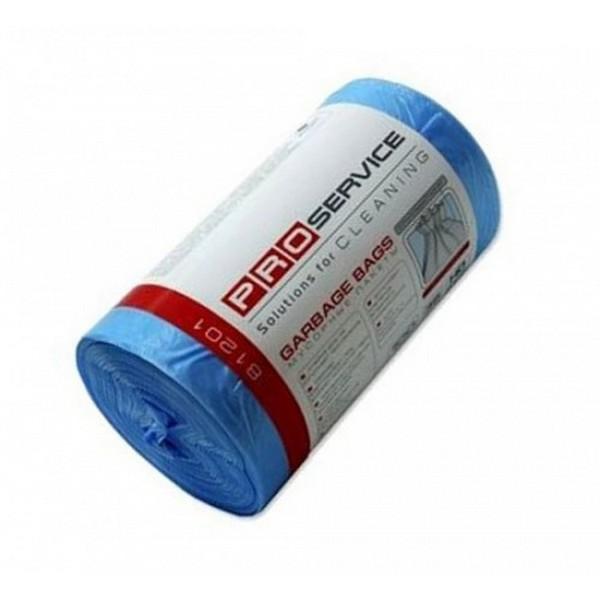 Пакеты для мусора PRO 50х55 35 л/100 шт синие HD