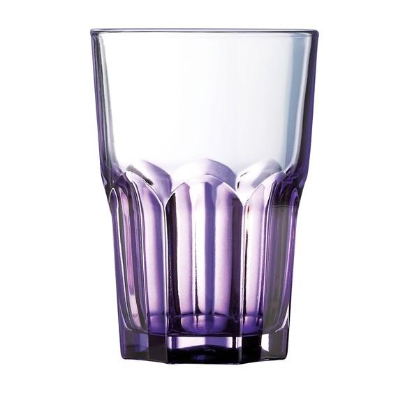 Стакан грани Crazy Colors фиолетовый 400 мл