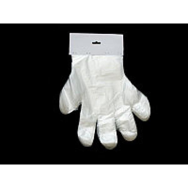 Перчатки одноразовые с отрывом 100 шт/уп (PE)