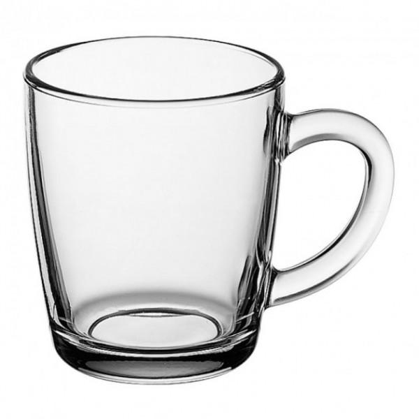 Стеклянная чашка Pasabahce Basic 340 мл
