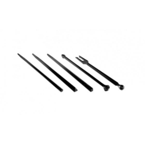 Палочки для снеков (в ассортименте), черные, д-90 мм (1650 шт/уп)