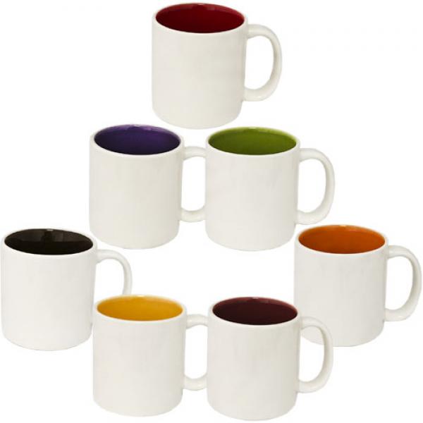 Чашка кофейная 100 мл. керамика (разные цвета)
