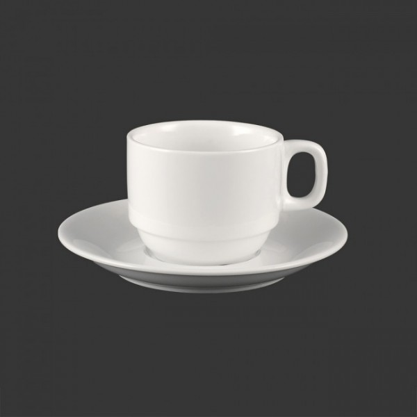 Чайный набор Extra White: чашка 250 мл + блюдце