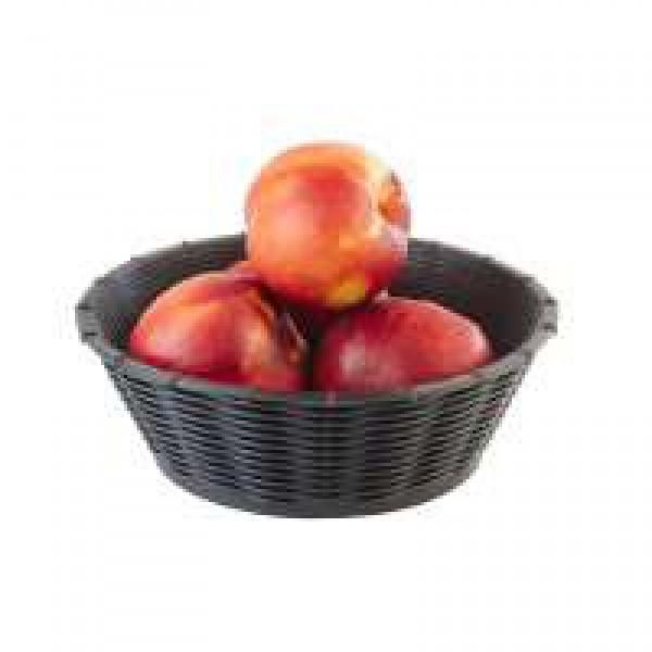 Корзинка черная для фруктов и хлеба 20 см