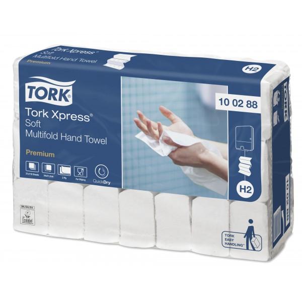 Tork листовые полотенца сложения Multifold супер мягкие 110 листов., 2 слоя