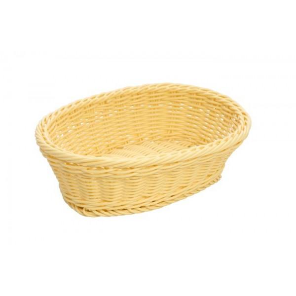 Корзина плетеная для хлеба светлая 25х20 см