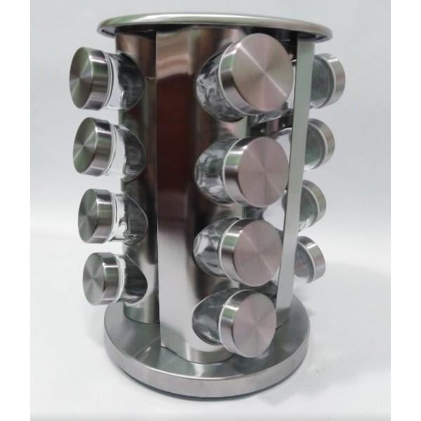 Органайзер для специй на 16 стеклянных емкостей,Н 260 мм