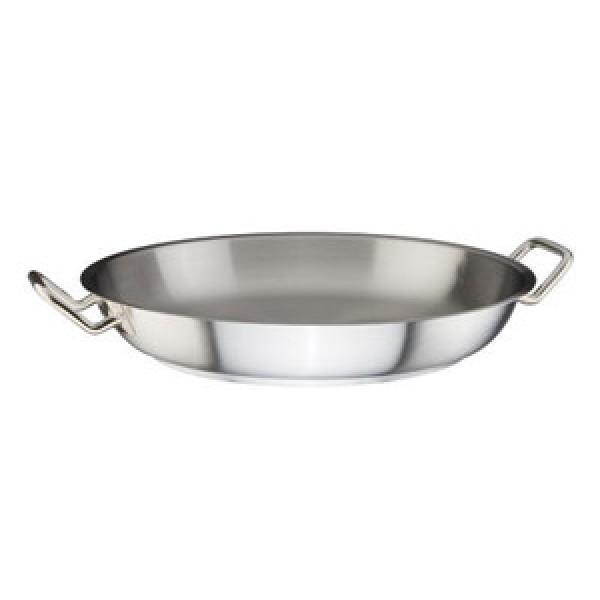 Сковорода с двумя ручками нержавеющая сталь 40 см