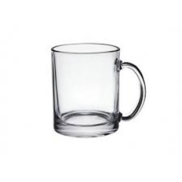 Стеклянная чашка для чая 320  мл