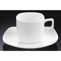 Кофейная чашка с блюдцем Wilmax 90 мл