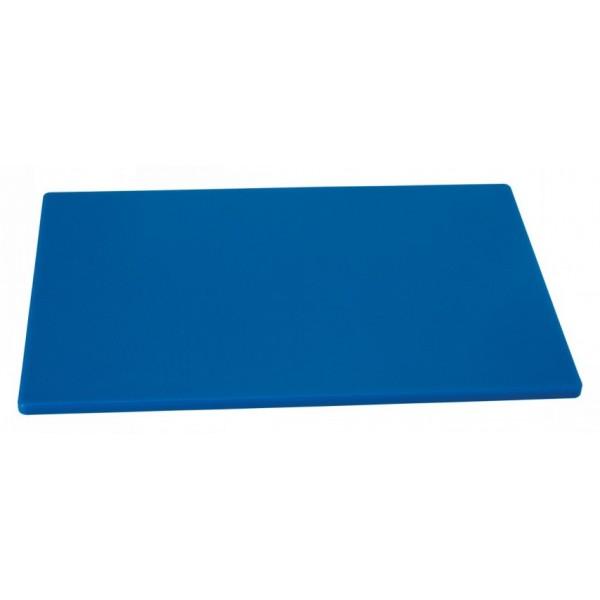 Профессиональная разделочная доска синяя, 50х30х2 см