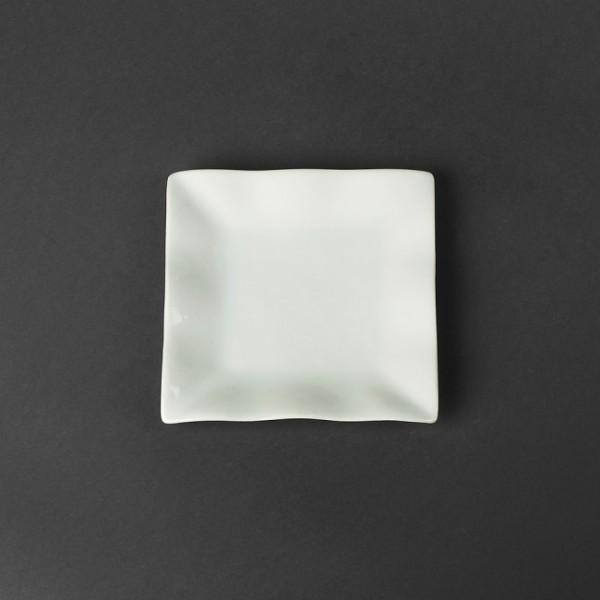 Тарелка квадратная волна, 14 см
