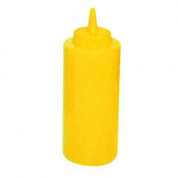 Дозатор-диспенсер желтый 700 мл