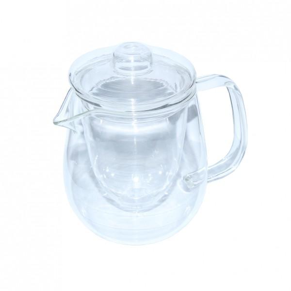 Стеклянный чайник со стеклянным заварником Наиф, 800 мл