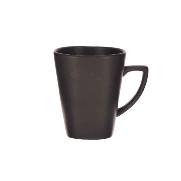 Чашка черная матовая  250 мл