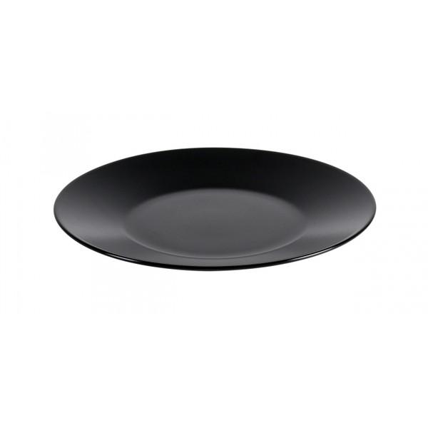 Тарелка обеденная IPEC CAIRO черная 25 см