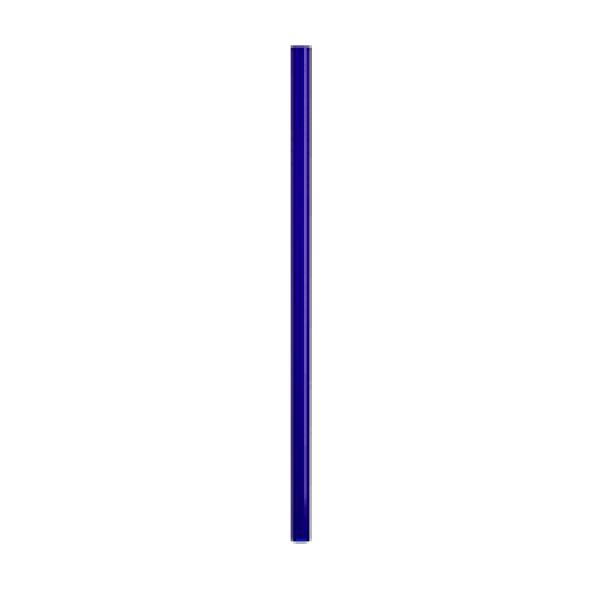 Трубочки для смузи синие 19 см (100 шт/уп)