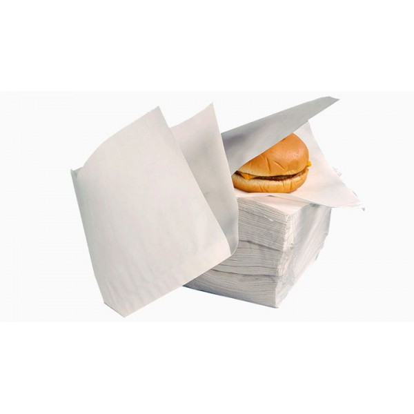 Уголок для бургера белый 150х125 мм (2000 шт/уп)