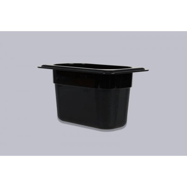 Гастроемкость поликарбонат черная GN 1/9-65