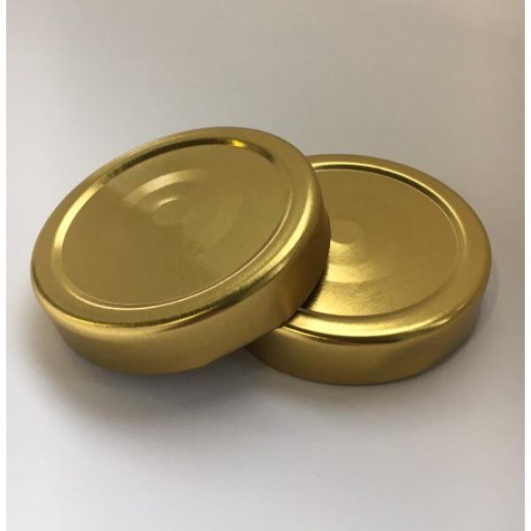 Крышка к баночке DEEР, 66мм золото