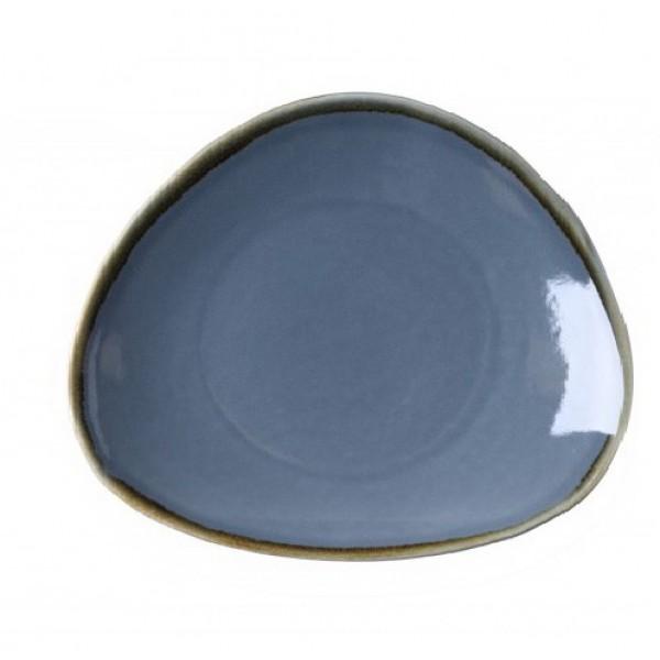Блюдо синее овальное Terrastone, 28 см