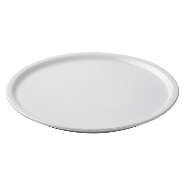 Тарелка для пиццы Bari белая, 30 см