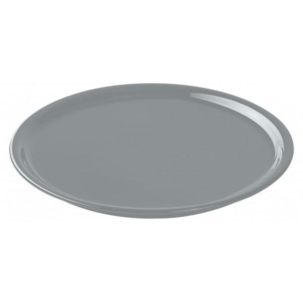 Тарелка для пиццы Bari серая, 30 см