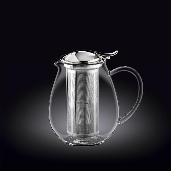 Стеклянный термо чайник Wilmax 1,3 мл