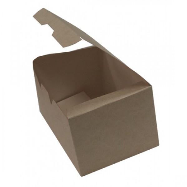 Крафтовая коробка для снеков, 150*91*70 мм (25 шт/уп)