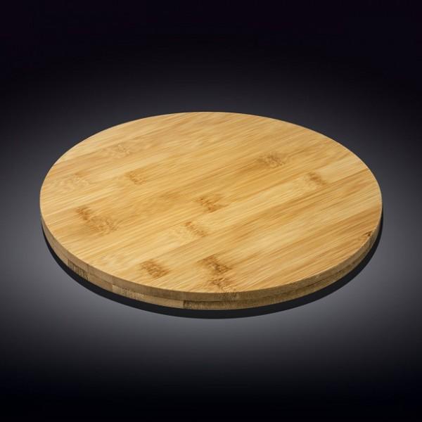 Блюдо круглое поворотное Wilmax 35,5х4 см