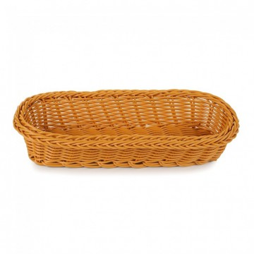 Корзинка плетенная для столовых приборов 27х12 см