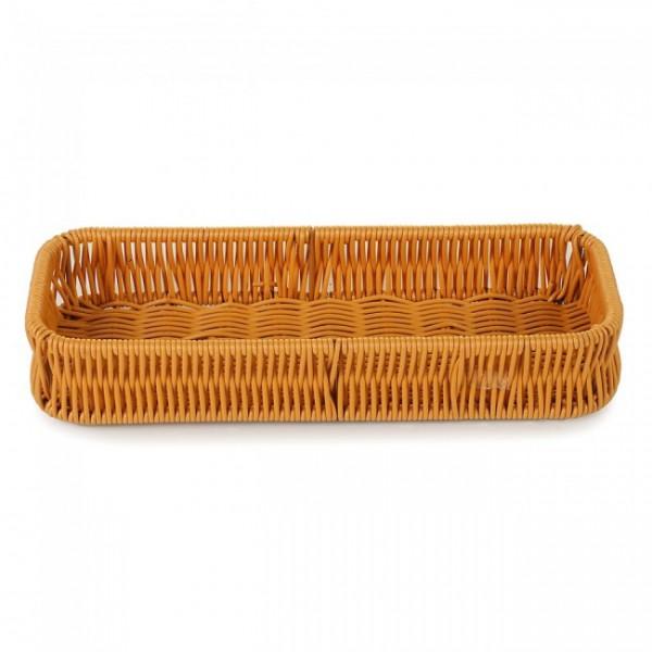 Корзинка плетенная для столовых приборов 27х10 см