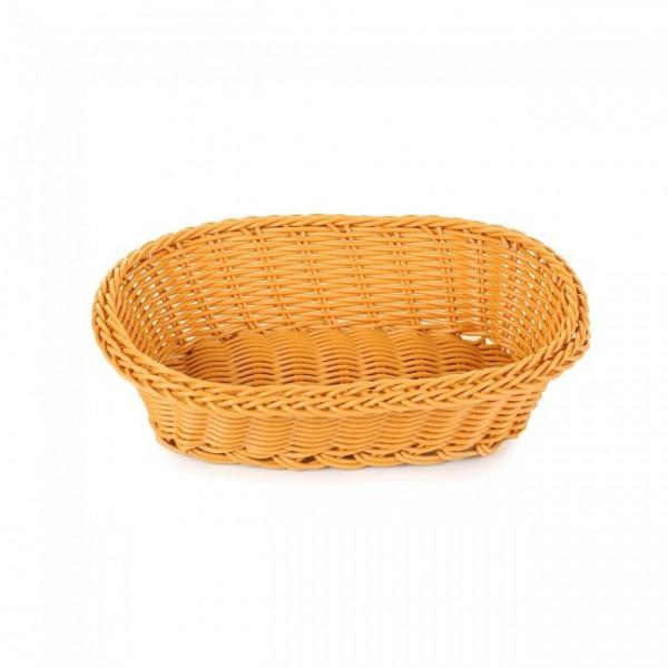 Корзина для хлеба овальная, 24х17х7 см