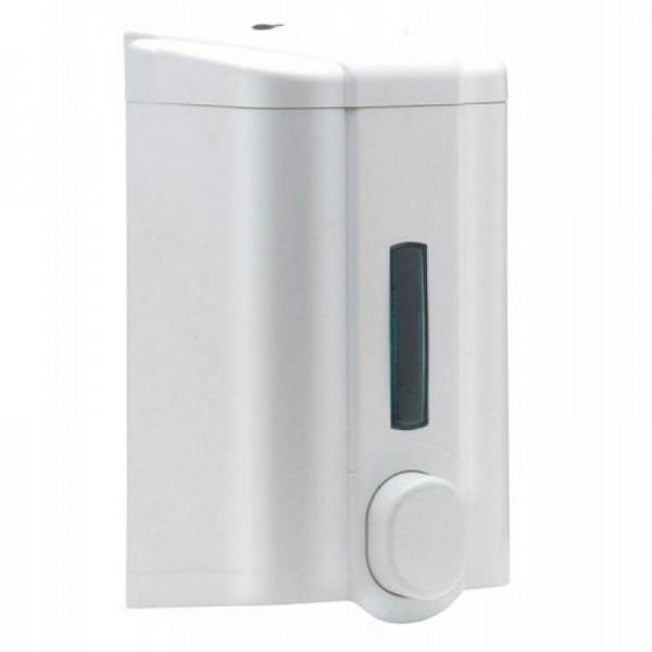 Дозатор PRO для жидкого мыла белый 1 л