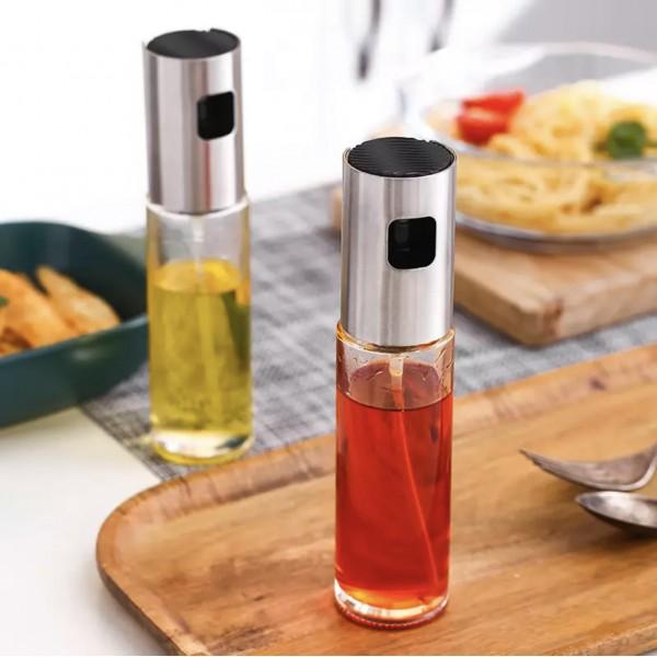 Бутылка для масла и уксуса с распылителем 100 мл