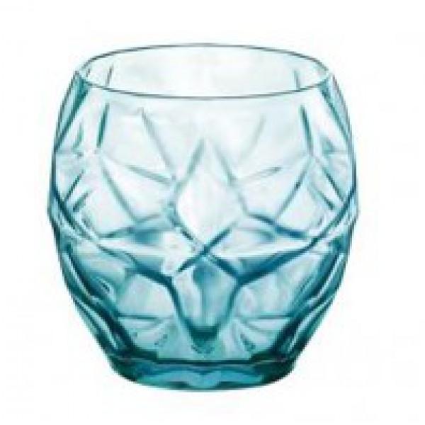 Стакан для воды голубой ORIENTE 400 мл/BORMIOLI ROCCO