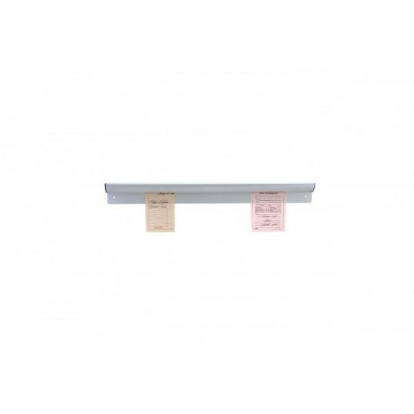 Планка  настенная для счетов и заметок, нержавеющая сталь L 920 мм (шт)