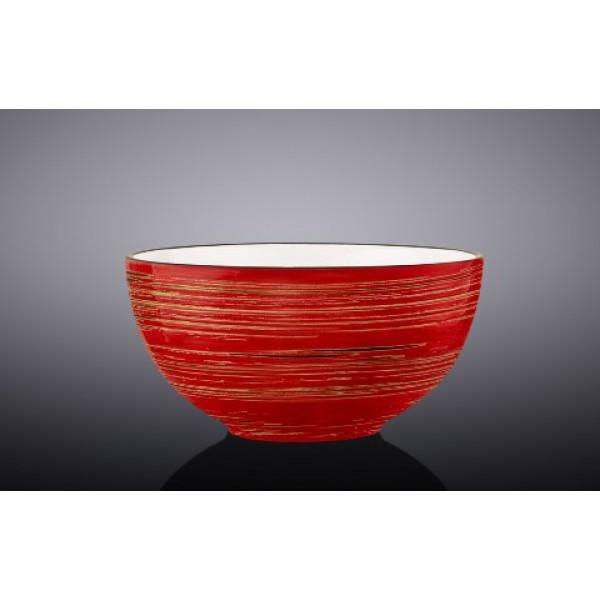 Салатник Wilmax SPIRAL RED d16,5см/V1000мл