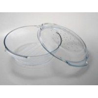 Кастрюля стеклянная жаростойкая гриль Termisil 2,4 л (270х238х86 мм)