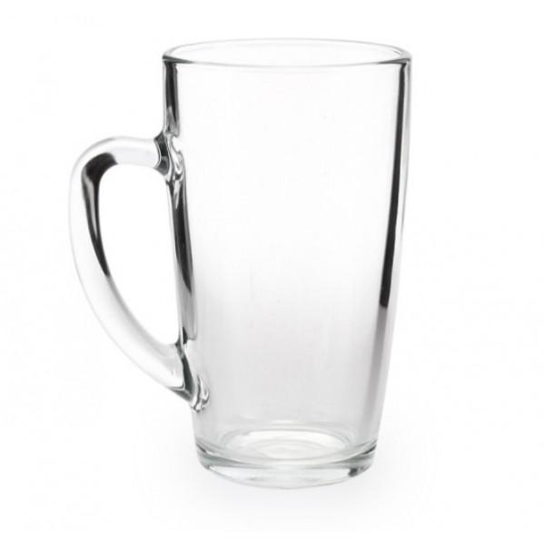Стеклянная чашка для чая/кофе, 400 мл