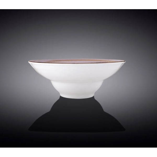 Тарелка глубокая Wilmax SPIRAL LAVENDER d-20 см, v-800 мл