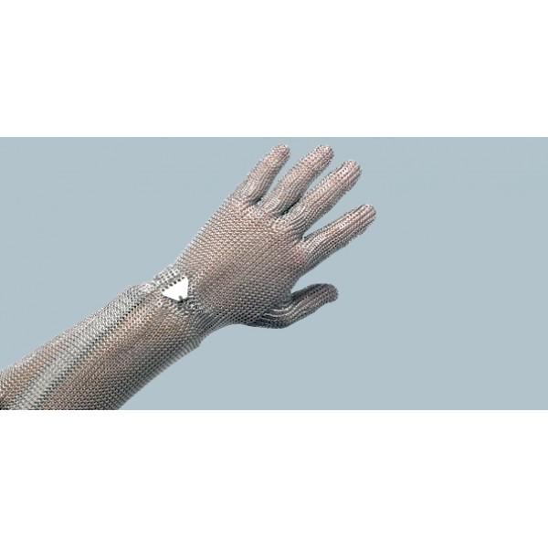 Кольчужная перчатка с манжетом 19 см, размер L