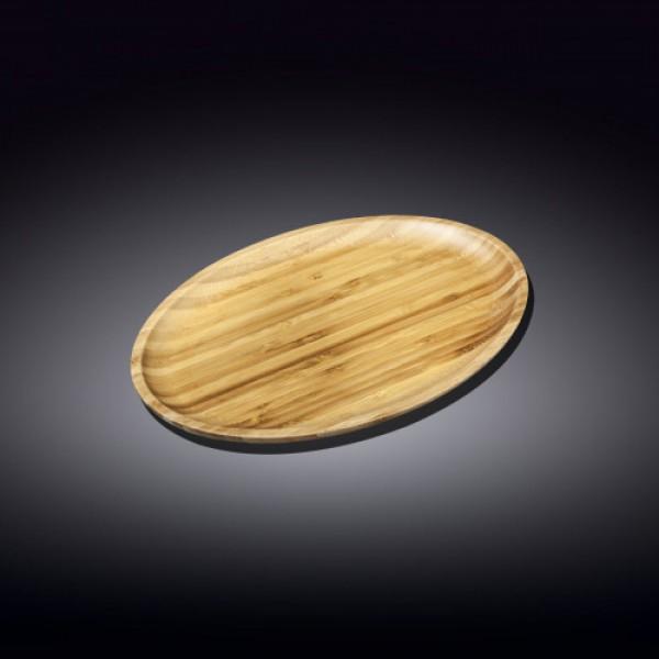 Блюдо овальное бамбук Wilmax 35,5х24,5 см